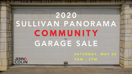 The 2020 Sullivan Panorama Community Garage Sale