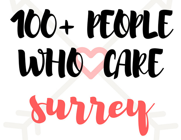 100 People Who Care Surrey. We need your help!