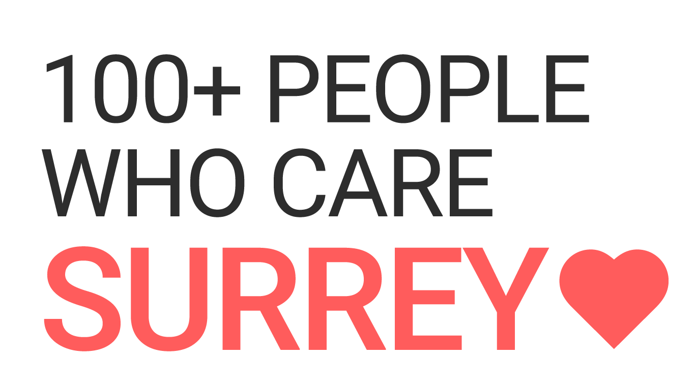 100 People Who Care Surrey.  Our next meet-up is November 13th!